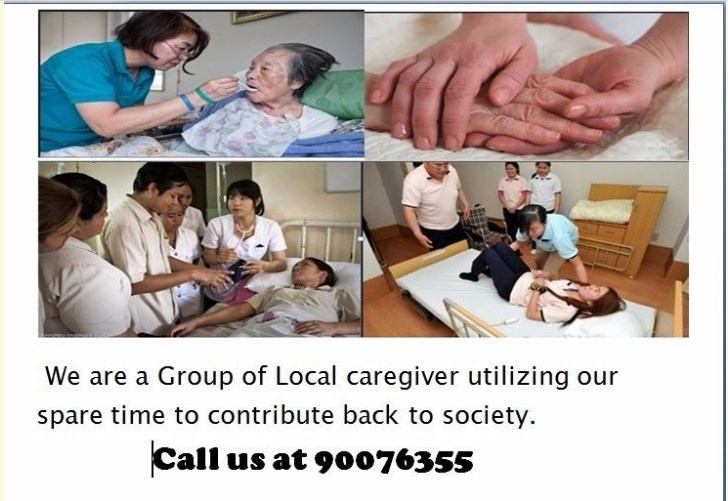 We are a group of Local Caregivers (Certified by WDA ) providing short term Caregiver Services