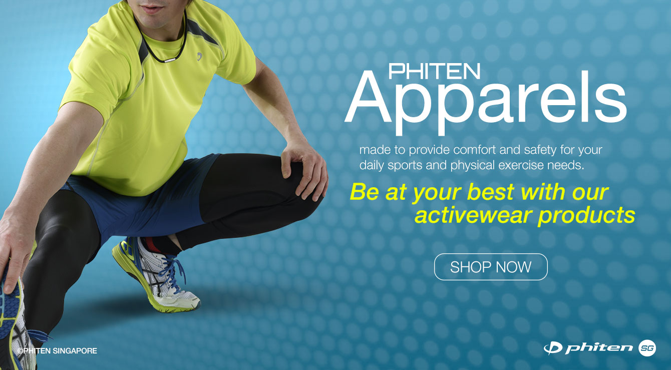 Planning to Buy Phiten's High-quality Apparels this GSS  | Phiten