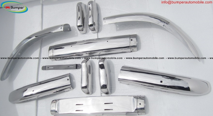 Volvo PV 544 bumper (1958-1965) stainless steel