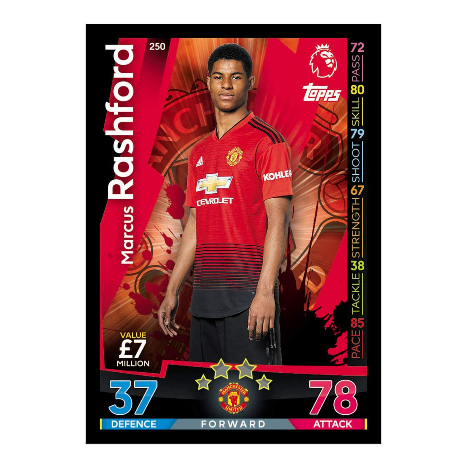 Buy Topps Match Attax Premier League 18/19 Trading Card in Singapore