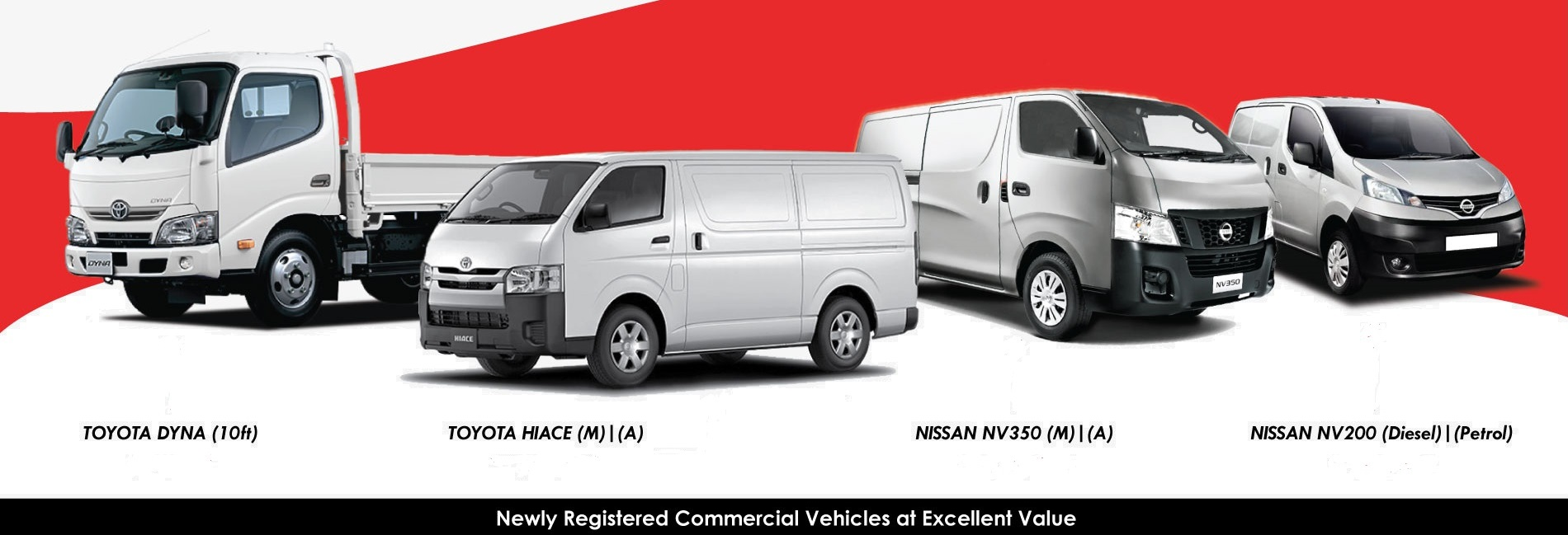 COMMERCIAL BRAND NEW VEHICLE