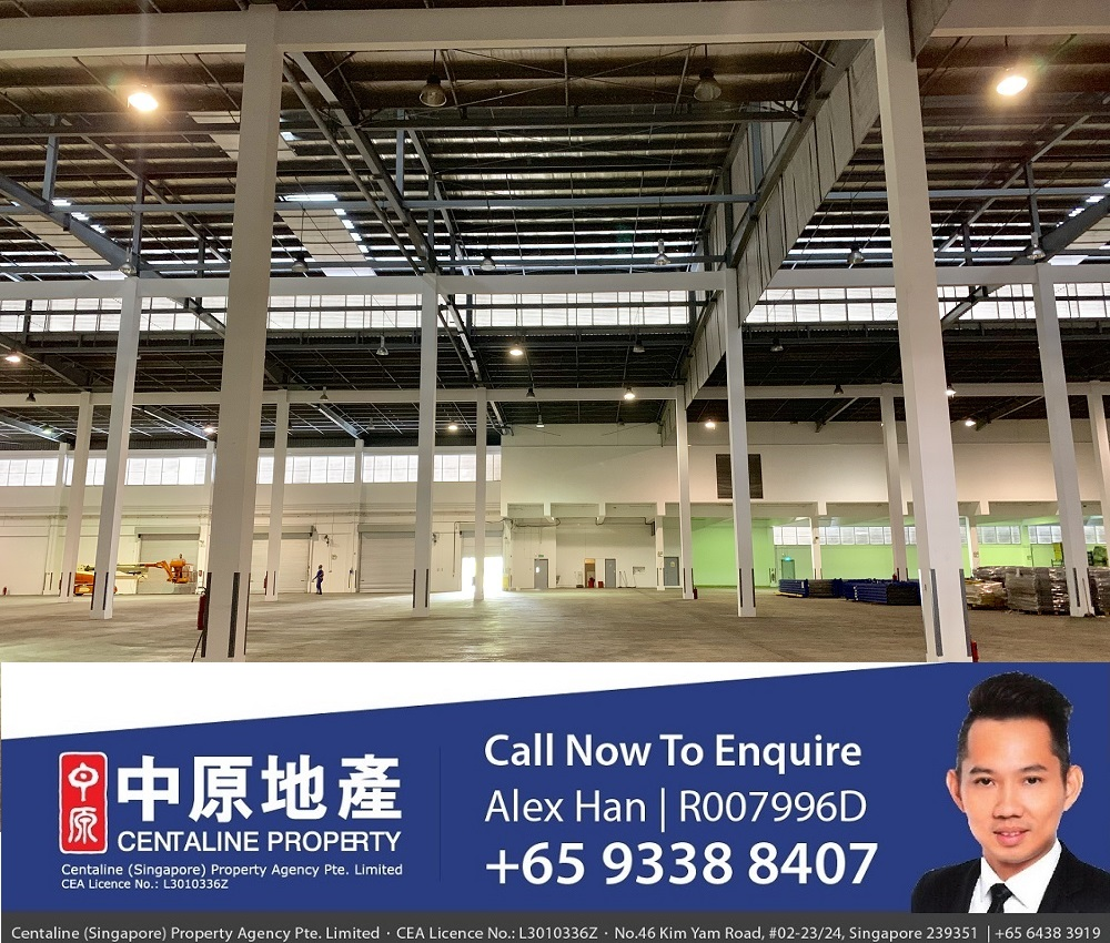 Tuas warehouse factory industrial space
