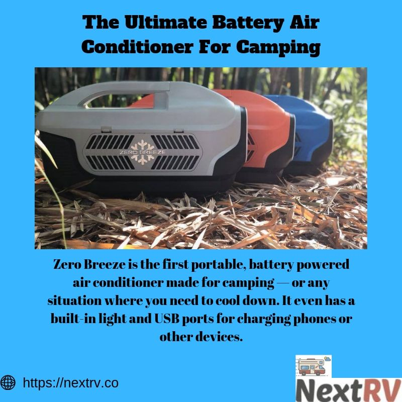 The Ultimate Battery Air Conditioner For Camping