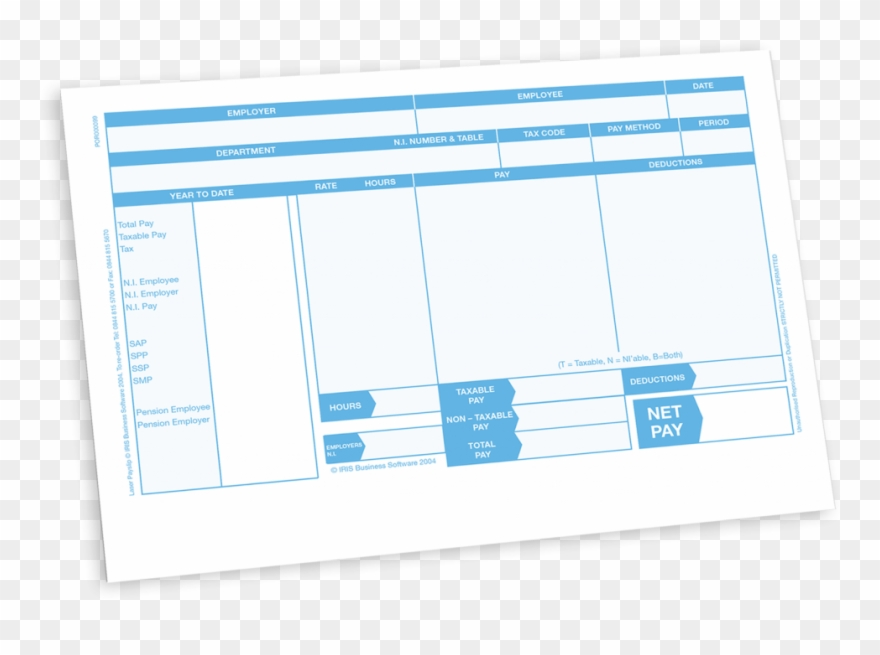 Payslip Format Validity Component For Payroll System