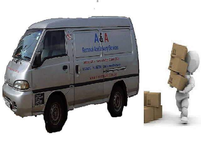 Man in Van For Your Daily Delivery Services.
