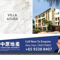 Villa Azura condo apartment Grandstand Bukit Timah for rent