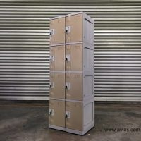 Buy 4 Tiers ABS Plastic Locker in Singapore from Direct Factory