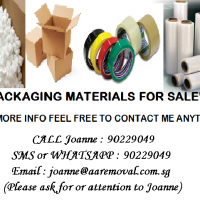 We Sell Packaging Materials For your Moving/Storage Services!