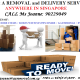 Man w/ Van For Your Home/Office Removal Services in any part of Singapore.
