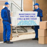 2 Professional & Experienced Movers For Your Moving Services.