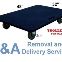 Heavy Stuffs for Moving? We Offer Heavy Duty Trolley w/ Max Cap of 300Kg.