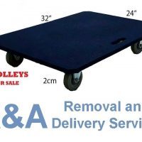 We Sell Heavy Duty Trolley w/ Max Cap of 240Kg Best for your Removal Services.