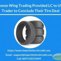 BWT Provided LC to USA Trader to Conclude Their Tire Deal
