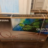 Samsung CURVED 65-Inch 4K Ultra HD (QLED) Smart TV [QN65Q8C - 2017 Model