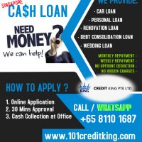 Singapore Personal Cash Loan | Fast Approval | Easy Apply‎