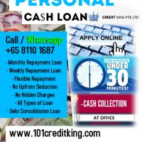 Singapore Personal Cash Loan | Fast Approval | Easy Apply