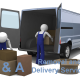 Van with Friendly Driver for your Daily Delivery Services.