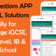 Math Exam Quiz (Free) iGCSE, GCE, GCSE, IB with Full Solution