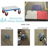 Heavy Items to Move, We Fabricate Quality Trolley's Base on your Moving Needs.