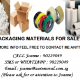 We Sell Packaging Materials, Best for your Storage/Moving Purposes.
