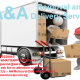 Man in Lorry w/ Friendly & Professional Mover for your Moving/Delivery Services.